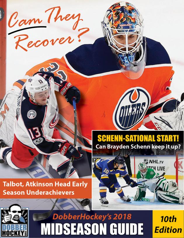 dobbers 2017-18 fantasy hockey guide pdf